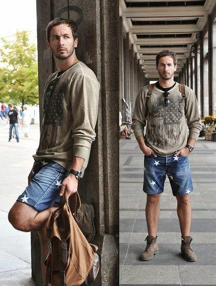 6a15d8a37 Macho Moda - Blog de Moda Masculina  Como usar Bota Masculina com Shorts ou  Bermuda