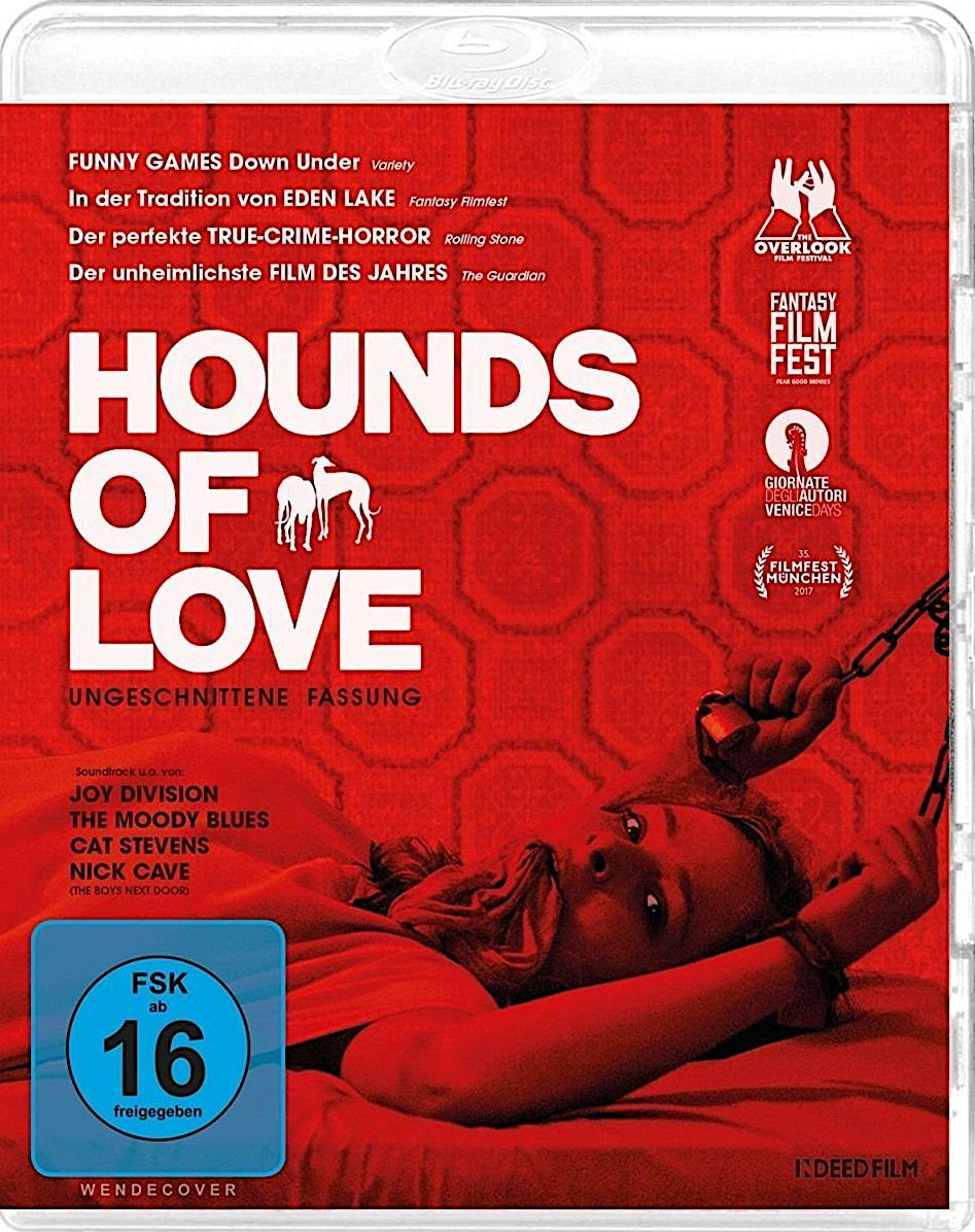 HOUNDS OF LOVE BLURAY GERMANY (ALIVE) (With images