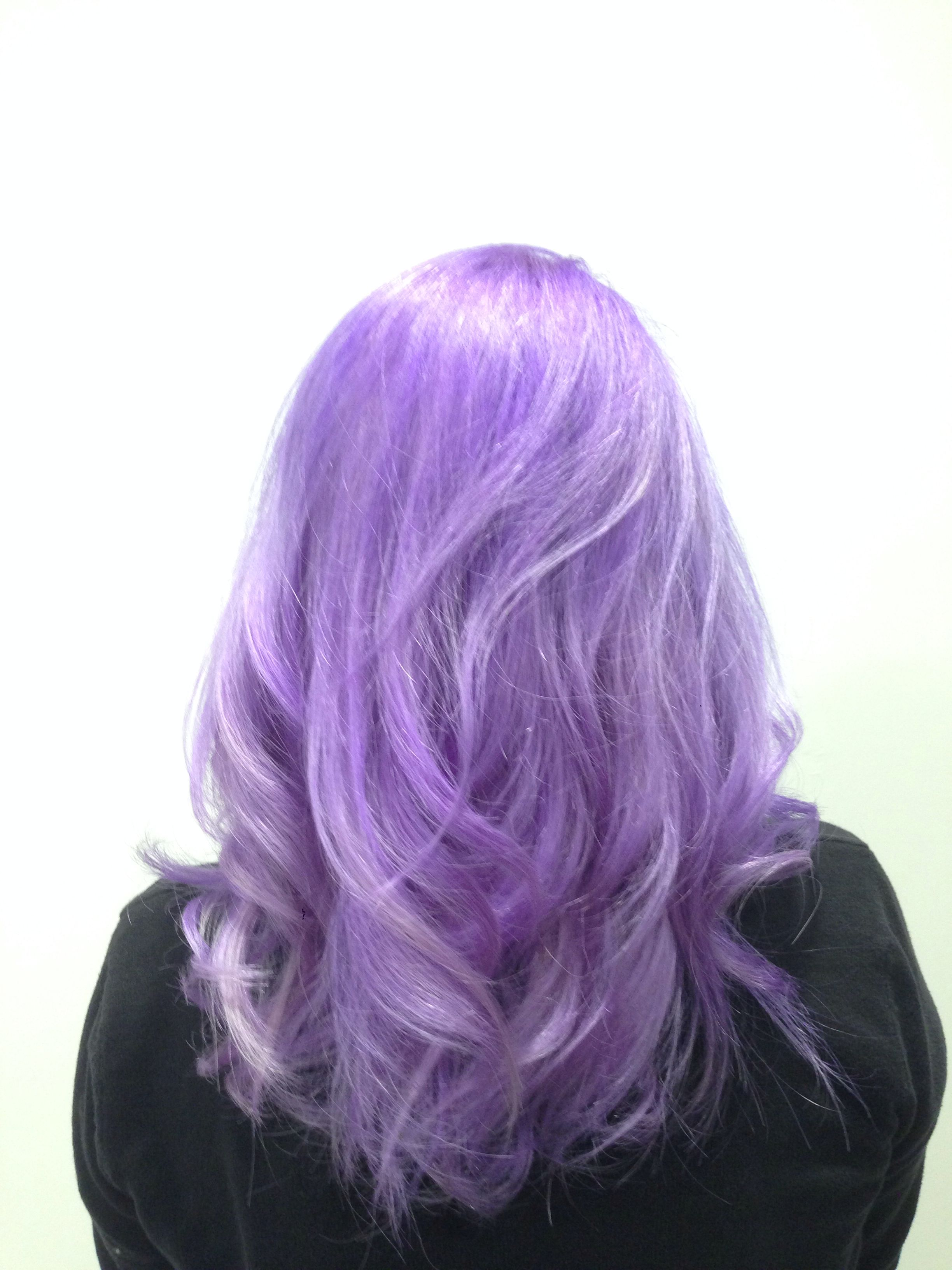Lilac Hair Color For Asian )