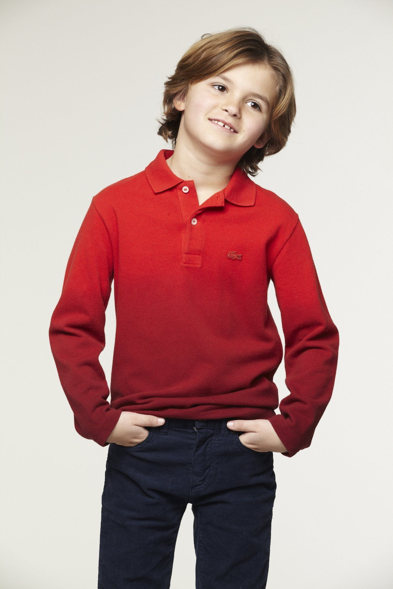 For Favourite Lacoste Sleeve Your Littleboy Dyedpolo Long sQBhrxtdC