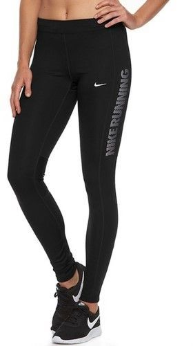 Elección Desviación celestial  Nike Women's Dri-Fit Power Essential Flash Running Tights-Black-Large |  Black tights, Running tights, Nike women