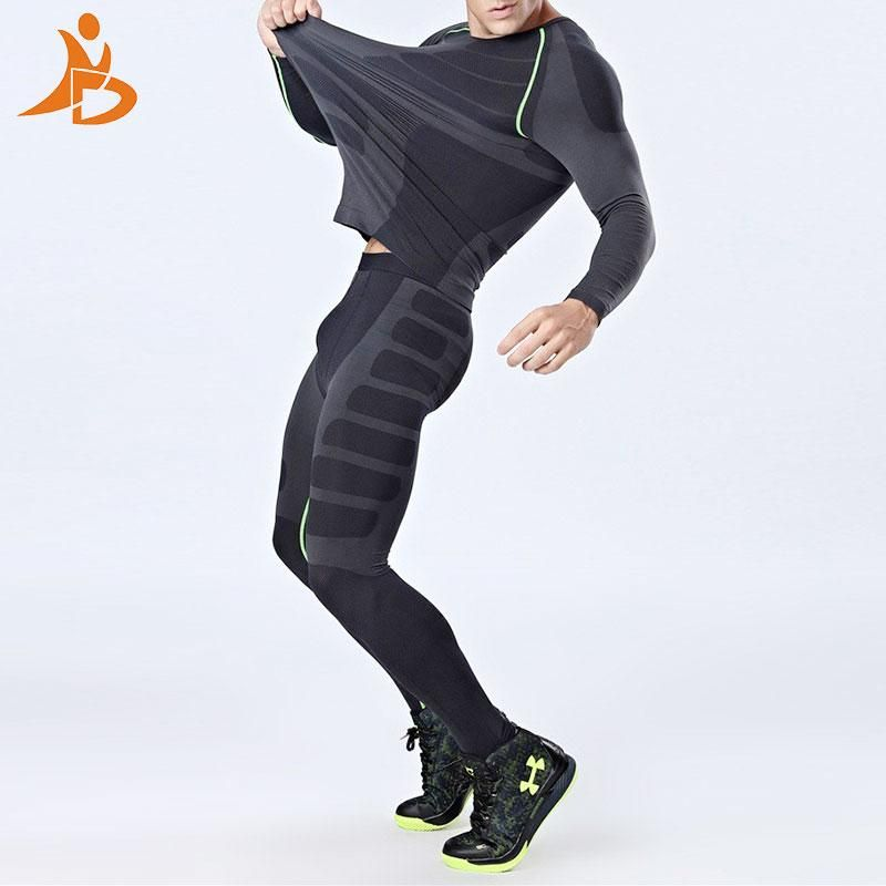 Tight Tracksuit Men Compression Quick Dry Training Fitness Long Sleeve –  Piketo 1bd2056c6