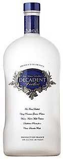 Decadent Vodka  ecadent vodka appears to be one of the many value brands produced by the Minnesota-based United States Distilled Products. We presume it's a grain-based vodka