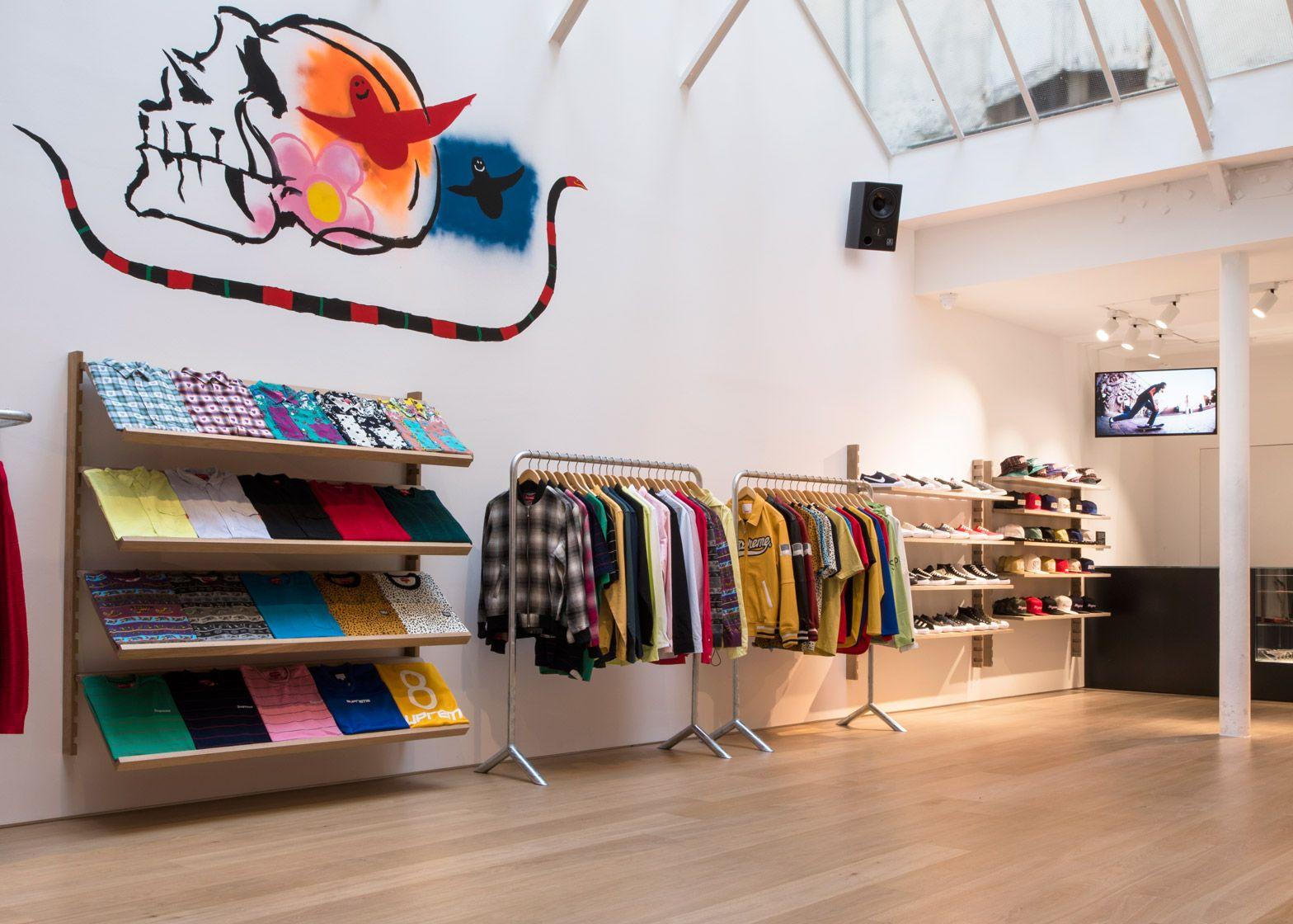Brinkworth designs clean interior for supreme paris store