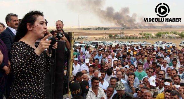 HDP Heyeti Kobani Sınırında - Siverek Haber Haberin Doğru Adresi