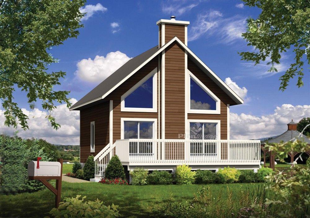 ce joli chalet poss de une grande v randa de larges fen tres panoramiques et un int rieur. Black Bedroom Furniture Sets. Home Design Ideas
