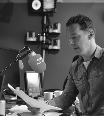 Benedict reads the D-Day midnight news, part of the original radio news script from 6 June, 1944