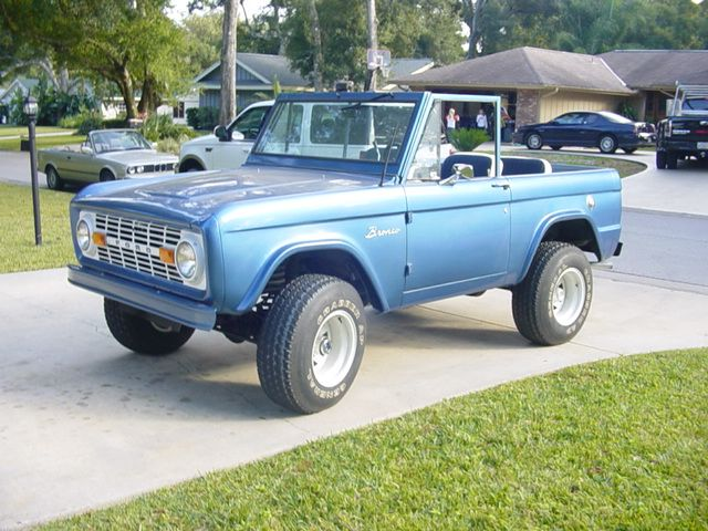 Old Car Reviews 1969 Ford Bronco Long Roof Hooniverse Ford Bronco Bronco Classic Bronco