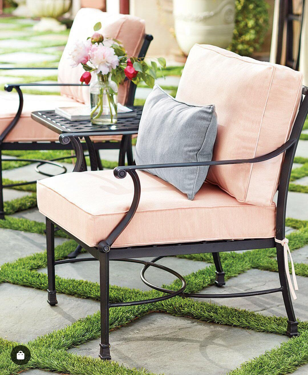 Peachy Amalfi Lounge Chairs With Cushions Set Of 2 In 2019 Ncnpc Chair Design For Home Ncnpcorg
