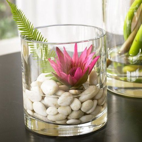 25 Cool Ideas To Use Pebbles To Decorate Your Interior And
