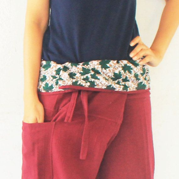 green maple inside fold over with maroon full by meatballtheory