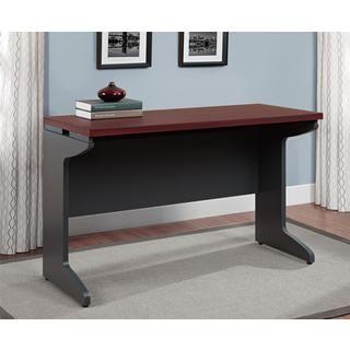 Altra Pursuit Cherry/ Grey Bridge Table | Overstock.com Shopping - The Best…