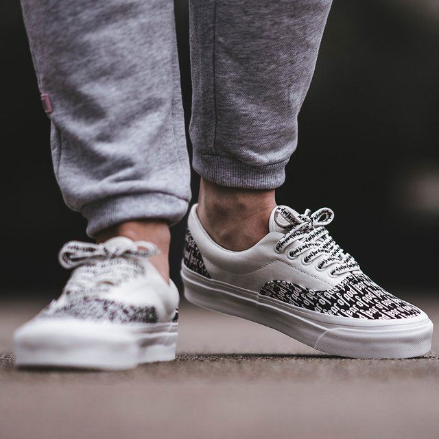 fcf1055565d2 Vans Era 95 DX Fear Of God White Black in 2019