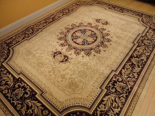 Persian Rug 8x11 Ivory Tabriz Oriental Rugs Living Room Size 8x10 Carpet AS Quality