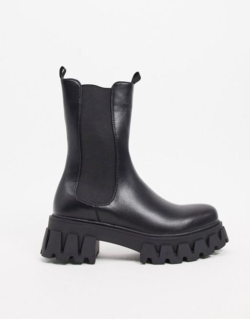 Koi Footwear Sentry vegan mid calf