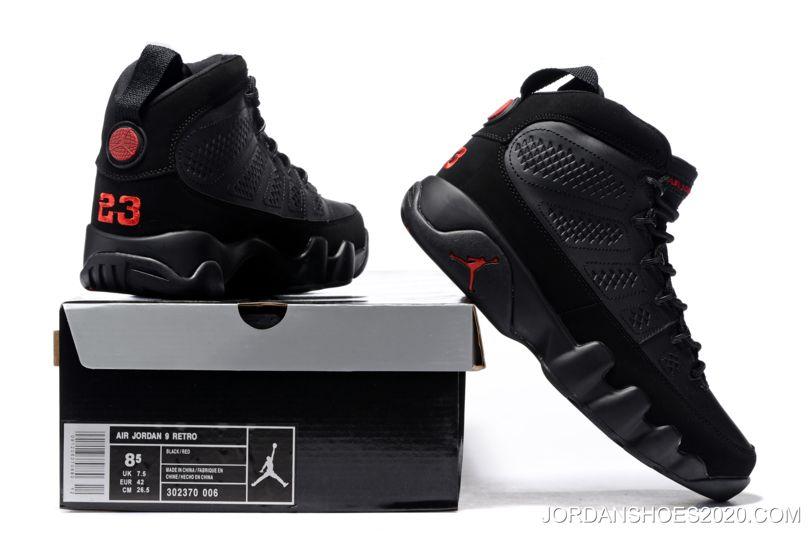 "6d253a00f313 Women Men 2020 Top Deals Air Jordan 9 ""Bred"" Black Anthracite ..."
