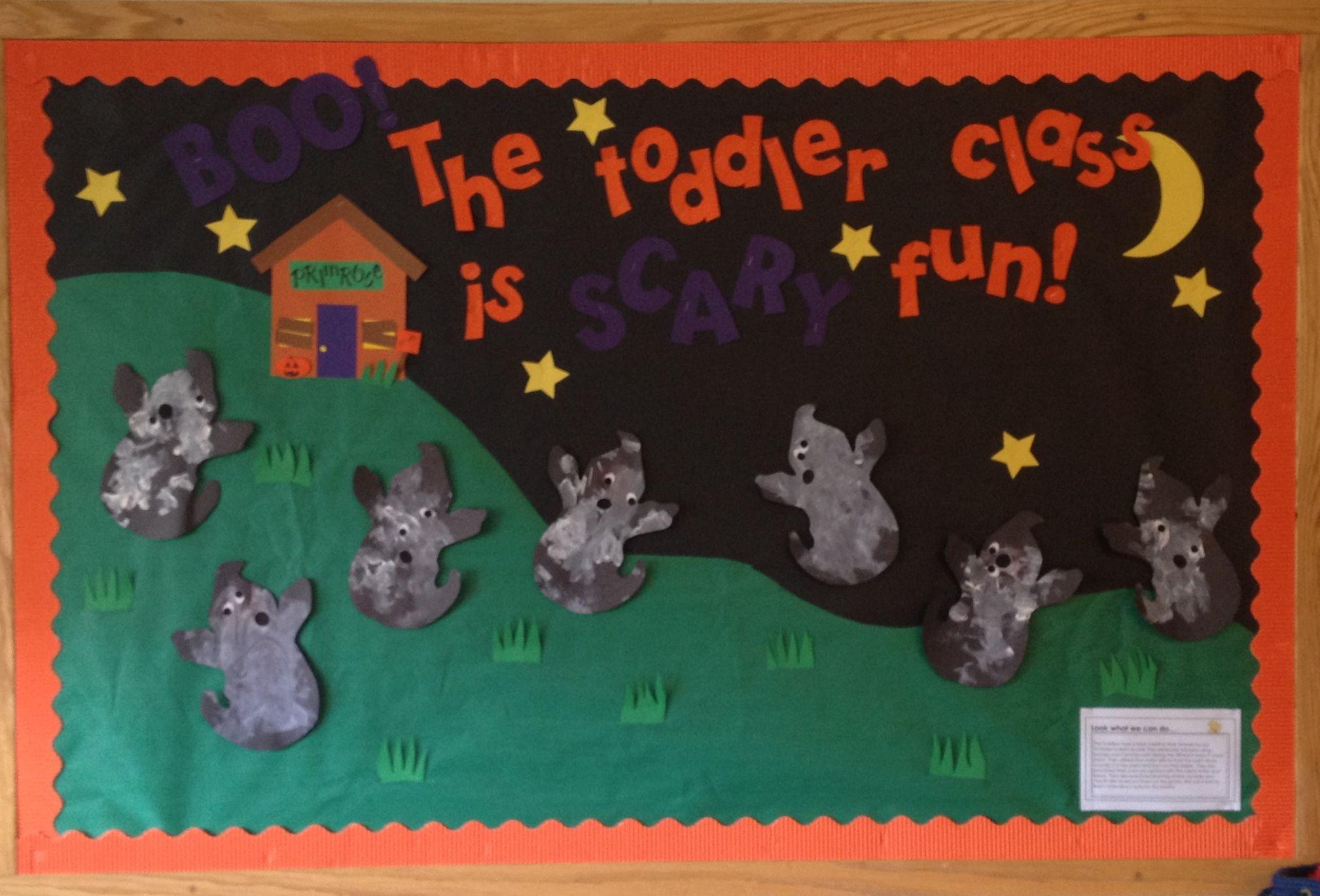 Primrose Halloween Bulletin Board