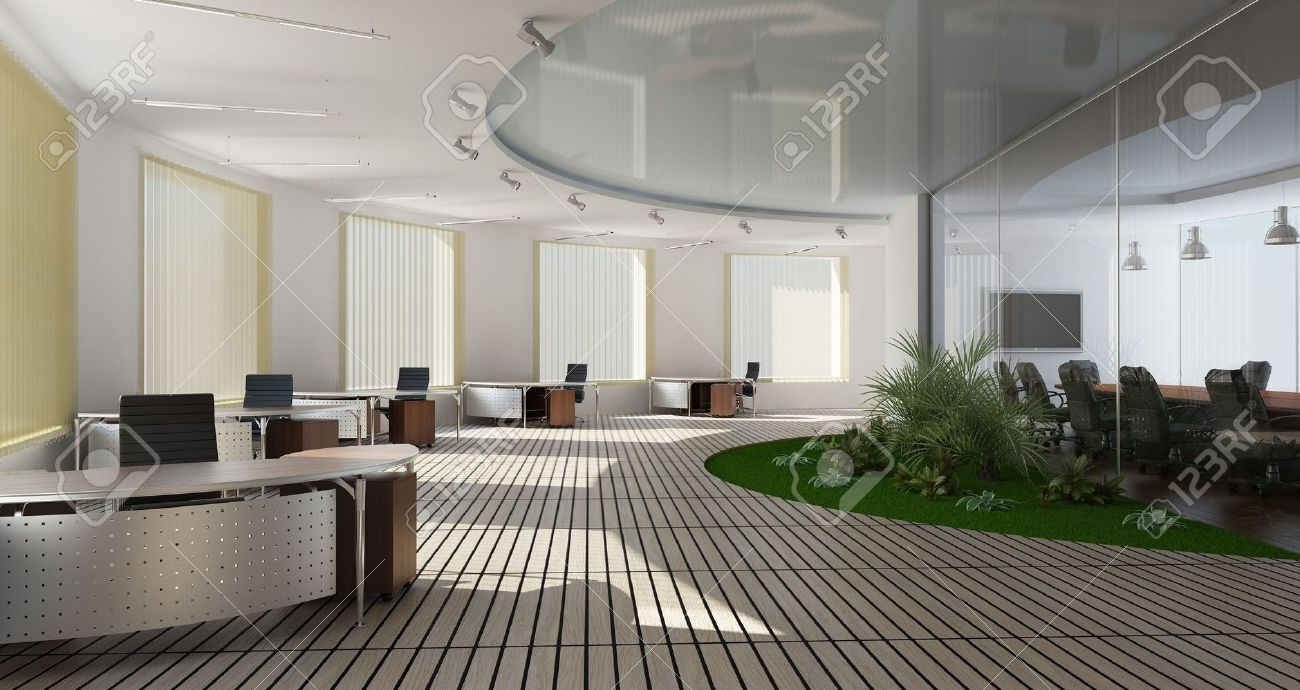 Modern interior of office stock photo picture and royalty free