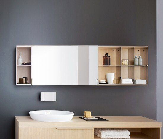 027 Mob027 Von Agape Spiegelschranke Spiegelschrank Badezimmer Holzwand Badezimmer Holz