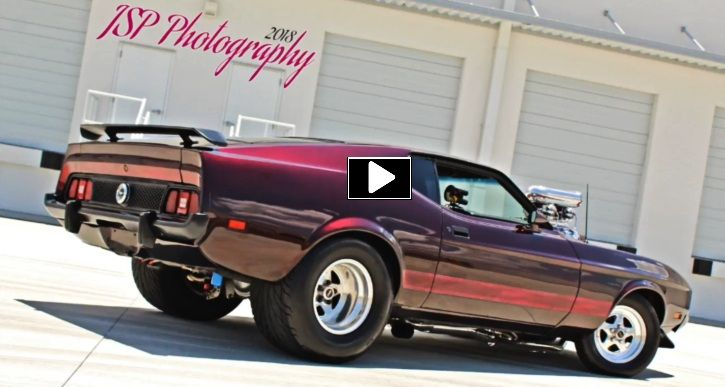 Show Stopping 1973 Ford Mustang Pro Touring Build | HOT CARS