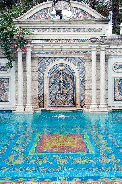pool side mosaic