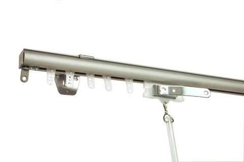 Wall And Ceiling Curtain Track Curtain Rod Connection Ceiling