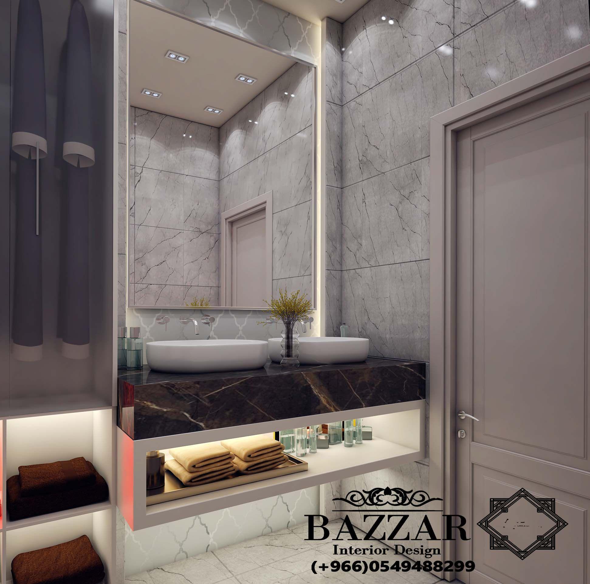 تصميم حمام مودرن تصميم ديكور حمام باللون الابيض تصميم حمام ذات الوان هادئه تصميم حمام صغيره Bathro Diy Bathroom Decor Bathroom Design Small Bathroom Decor