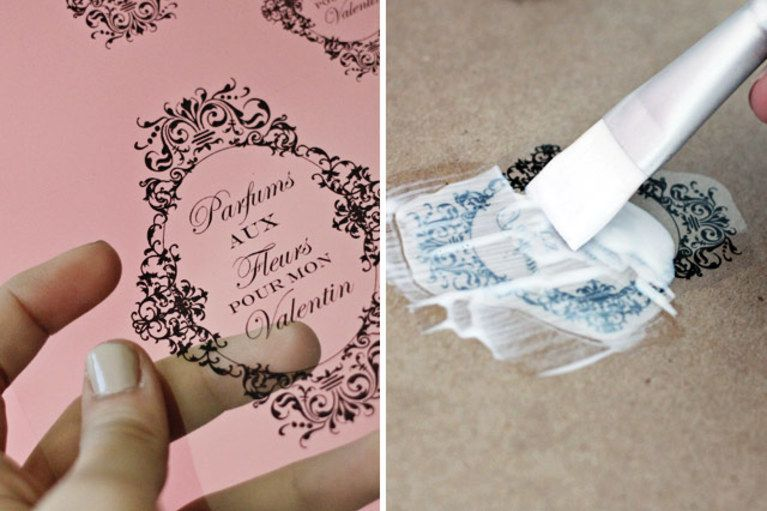 how to make a homemade label seal - Google Search