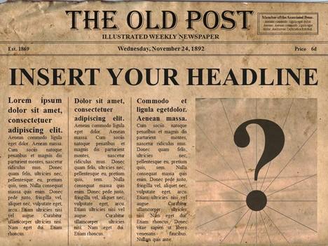 Free Editable Old Newspaper Powerpoint Template Newspaper Article Template Newspaper Template Word Newspaper Template