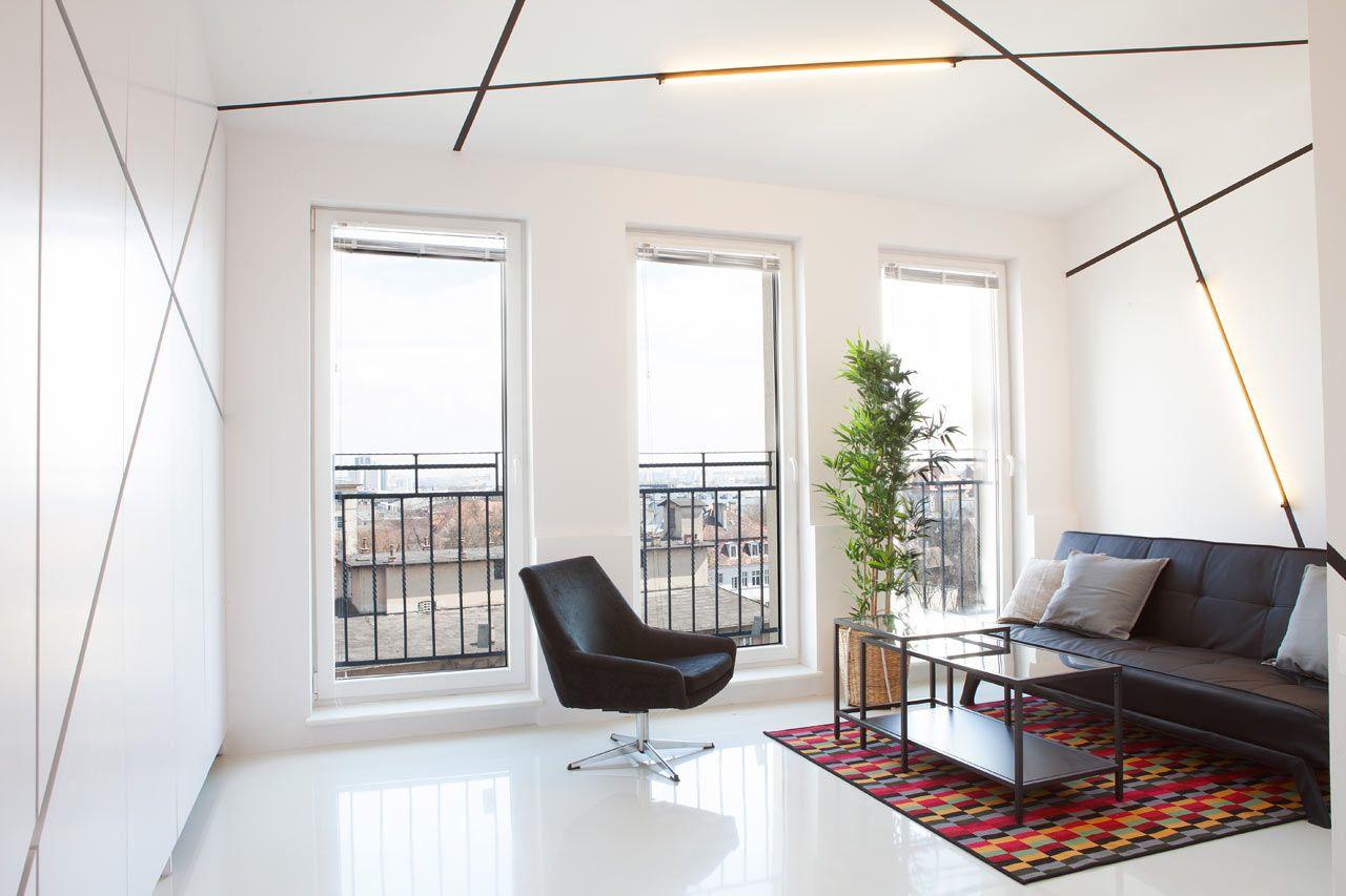 A Graphic Minimalist Apartment In Poland Apartment Interior