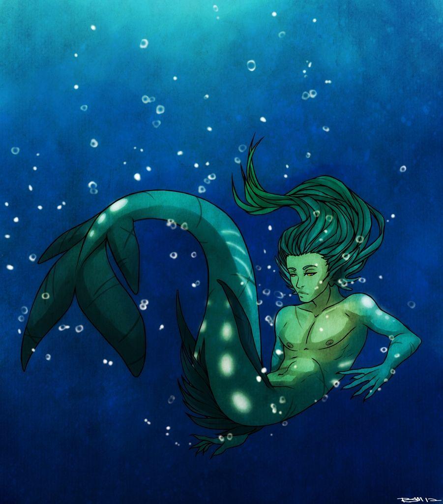 Anime Merman and Mermaid deviantART