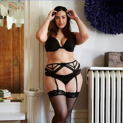 4471930a756 Strappy garter belts look awesome on everyone!