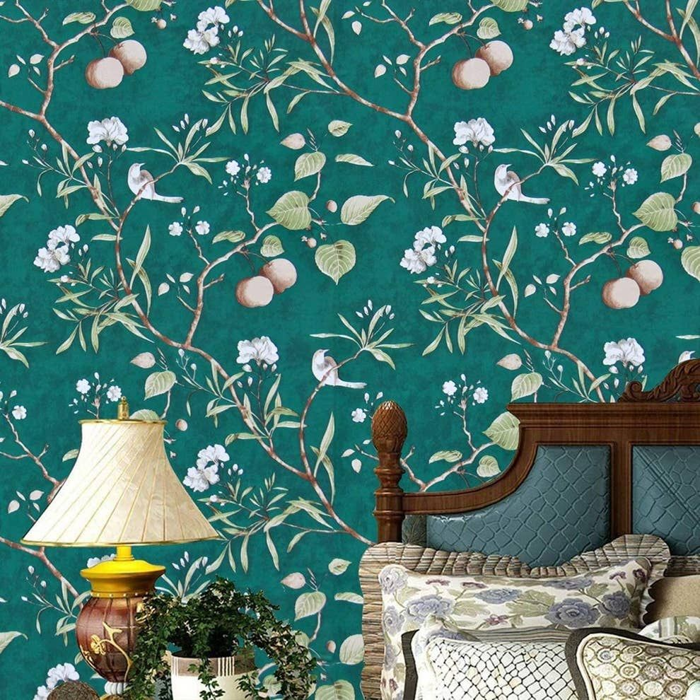 20 Affordable Ways To Turn Your Home Into A Space Built For Relaxation Tree Removable Wallpaper Vinyl Wall Covering Green Wallpaper