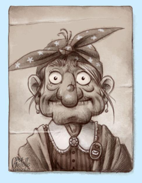 Смешной рисунок баба яга, открытка фотопечатью квиллинг