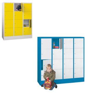 Schliessfachschranke Fur Kindergarten Und Schulen Stahlschrank Blechschrank Rollcontainer