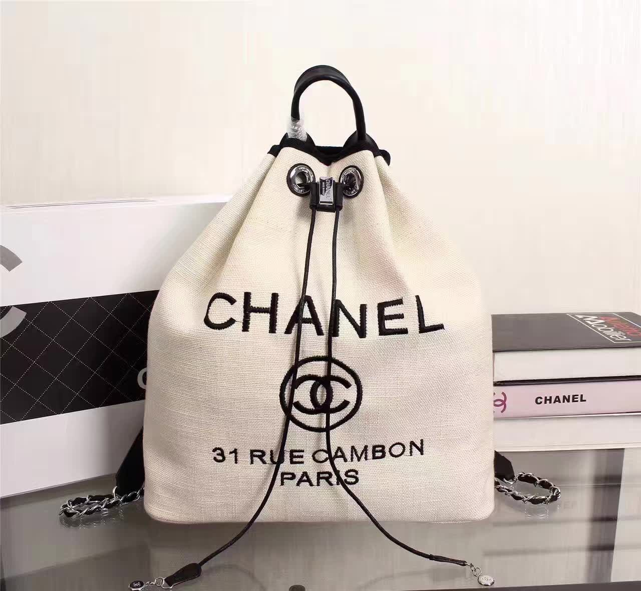 158dcf6d5d02 Chanel Backpacks 3389   Chanel Bags and Wallets in 2019   Chanel ...