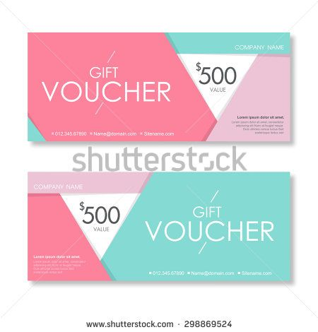 Vector illustrationgift voucher template with clean and modern vector illustrationgift voucher template with clean and modern pattern stock vector yelopaper Image collections