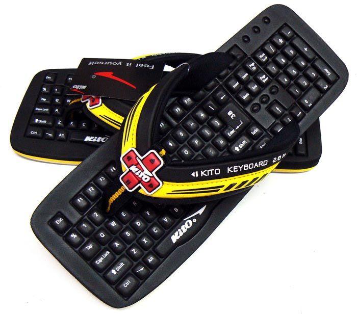 SlippersLol Y Keyboard TecladoModa Calzas Loca OuTXkPZi