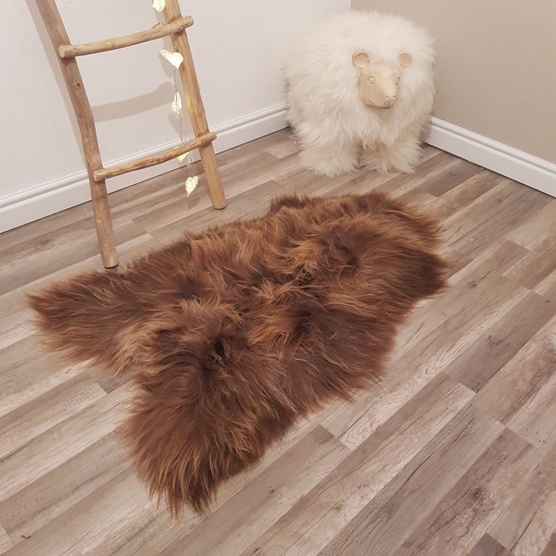 Amazing Color 100 Leather Sheepskin Sheep Skin Leather Sheep Etsy In 2020 Rugs On Carpet Rug Decor Soft Rug