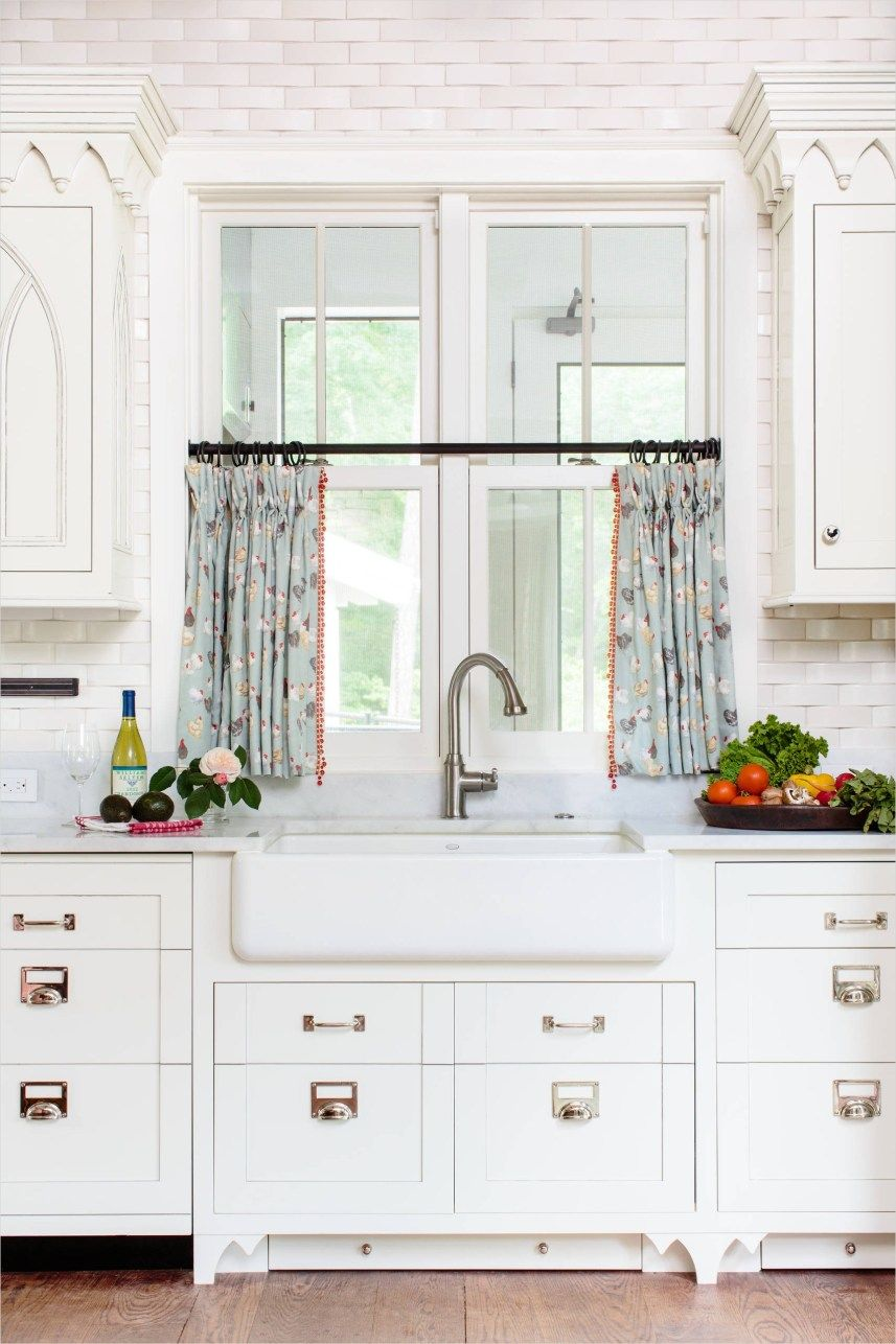 perfect farmhouse country kitchen curtain valances ideas