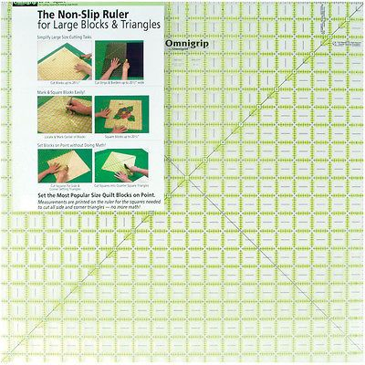 Quilt Templates and Stencils 116680 Omnigrip Non-Slip Diamond Free