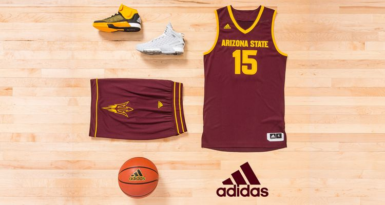 Adidas Arizona State University Unveil New Basketball Uniforms And Shoes