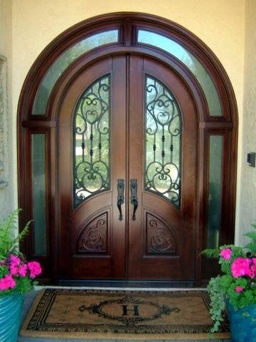 Mahogany Front Door Traditional Front Doors Miami Mahogany