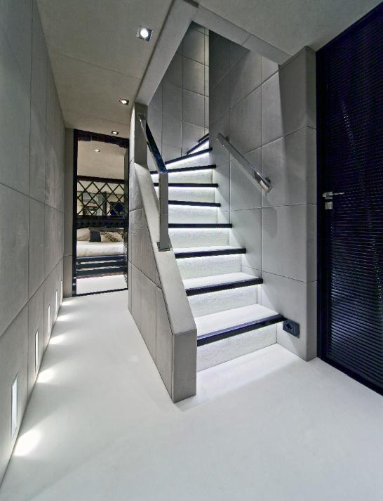 Luxury Yacht Interior Design | Luxury Yacht Charter Motor Yacht Manifiq Guest Hall - Interior By Luca ...