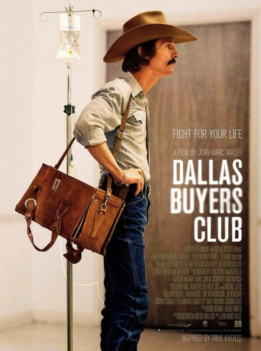 Matthew Mcconaughey As Ron Woodroof In Dallas Buyers Club
