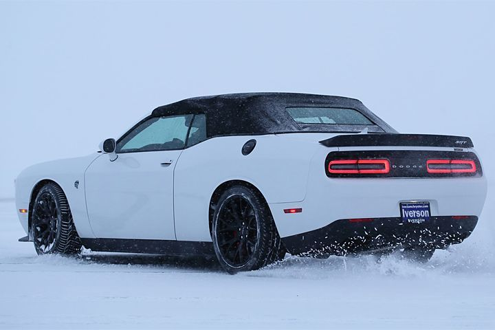 The World S Only Challenger Hellcat Convertible Costs 140 000