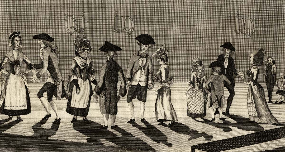 The Village Assembly, where those of a modest, middling sort emulated their social betters in the polite arts of dance and courtesy.
