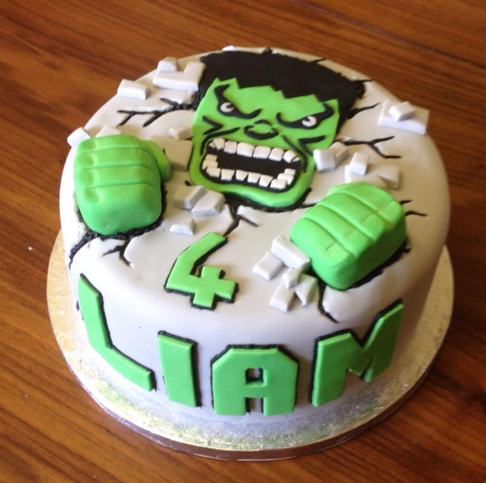 Hulk cake Cales birthday Pinterest Hulk cakes Cake and Birthdays