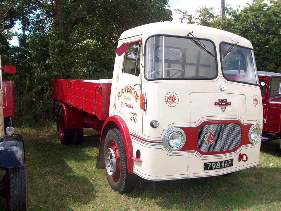 Rowe Hillmaster Cars trucks, Old lorries, Trucks