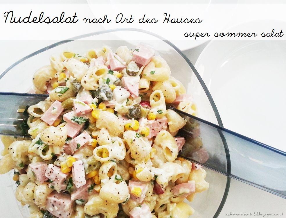 starlights in the kitchen food super sommer salat nudelsalat nach art des hauses. Black Bedroom Furniture Sets. Home Design Ideas